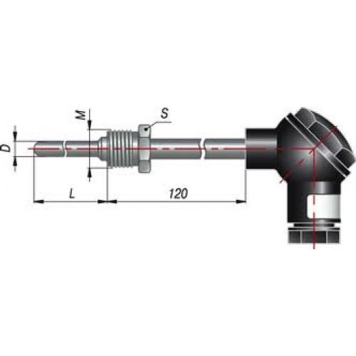 Термосопротивление ДТС105-Pt100 ВЗ 120